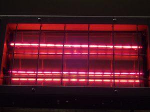 Pantalla infrarroja onda corta